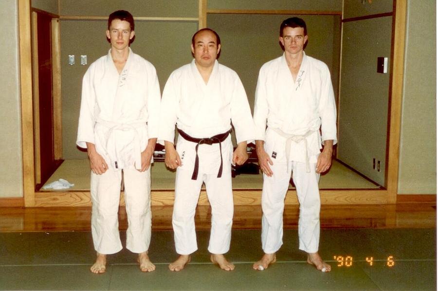 Head master of tenjin shin-yo Ryu